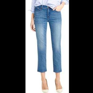 J.Crew Vintage Cropped Medium Wash denim jeans 27
